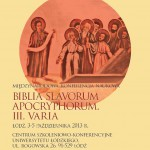 Biblia Slavorum Apocryphorum. III. Varia – photo gallery